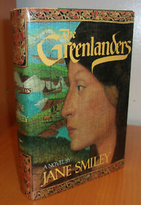 Jane Smiley GREENLANDERS First edition 1988 SIGNED Fine in a Fine Dust Jacket