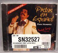 Pistas En Espanol Para Hombres Sealed Karaoke 1994 Spanish Music Latin