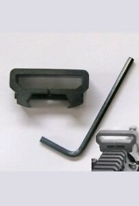 Tactical-Rifle-Sling-Scope-Mount-Picatinny-Weaver-Rail-Adapter-Attachment-CLBD