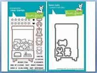 Lawn Fawn Photopolymer Clear Stamp & Die Combo You're Claw-some Lf1405,1406