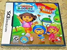 NES Nintendo DS Team Umizoomi & Dora's DORA Fantastic Flight Game NEW SEALED