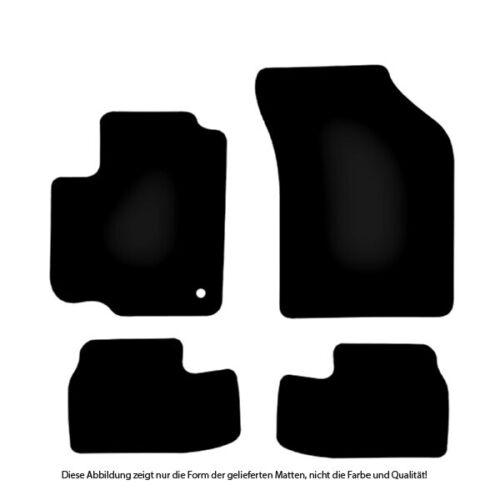 Auto-Fußmatten Classic anthrazit für Opel Agila Typ B 2008-2014 Autoteppiche