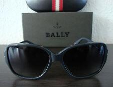 BALLY BY2030A 10 Luxus Damen Sonnenbrille Brille Elegant Grau NEU mit ETUI