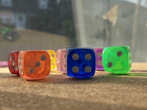 thumbtacks Set of 8 DICE//DIE  bulletin board pushpins or magnets