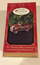 Hallmark 1937 Steelcraft Airflow Murray Kiddie Car 1997 Club Ornament NEW  NIB