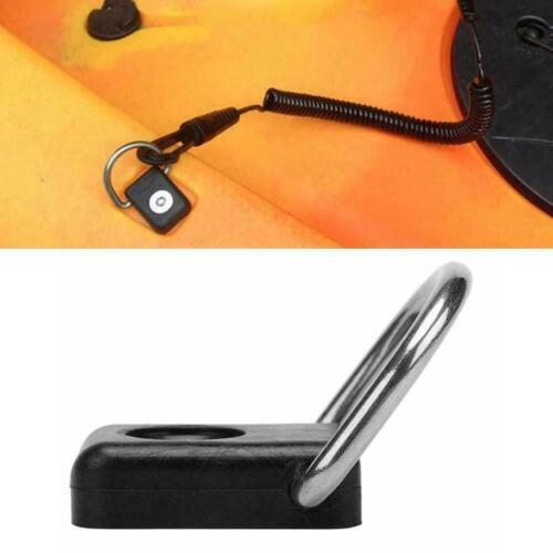 D Ring Schäkel Deck Mount Kayak Ersatzzubehör Armaturen Boot Q2O3