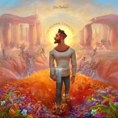 Jon Bellion The Human 2016 Condition Album Cover Canvas Art Poster Print Music