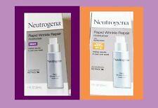 Neutrogena RAPID WRINKLE REPAIR  Moisturizer, NIGHT & DAY, HYALURONIC ACID