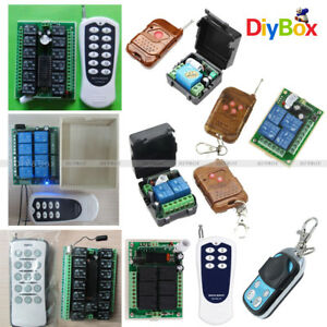 DC-12V-1-2-4-6-8-12-15-Channel-Wireless-RF-Remote-Control-Transmitter-Receiver