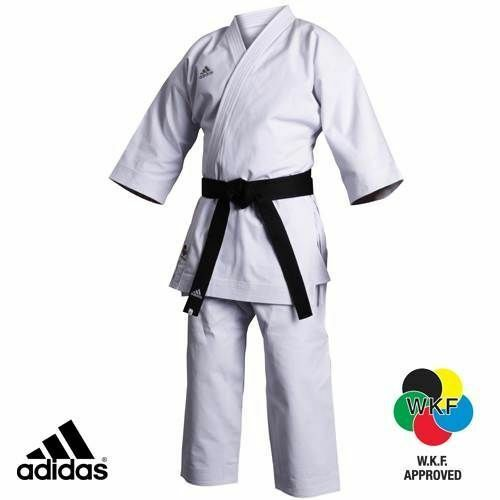49a526a36 Adidas Karate Gi Adi-Zero Kumite Suit 4.5oz Mens Womens White Uniform  Karate oexrti8782-Other Combat Sport Clothing