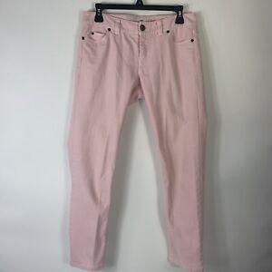 Vineyard-Vines-Womens-Pink-Denim-Jeans-Sz-4-Skinny