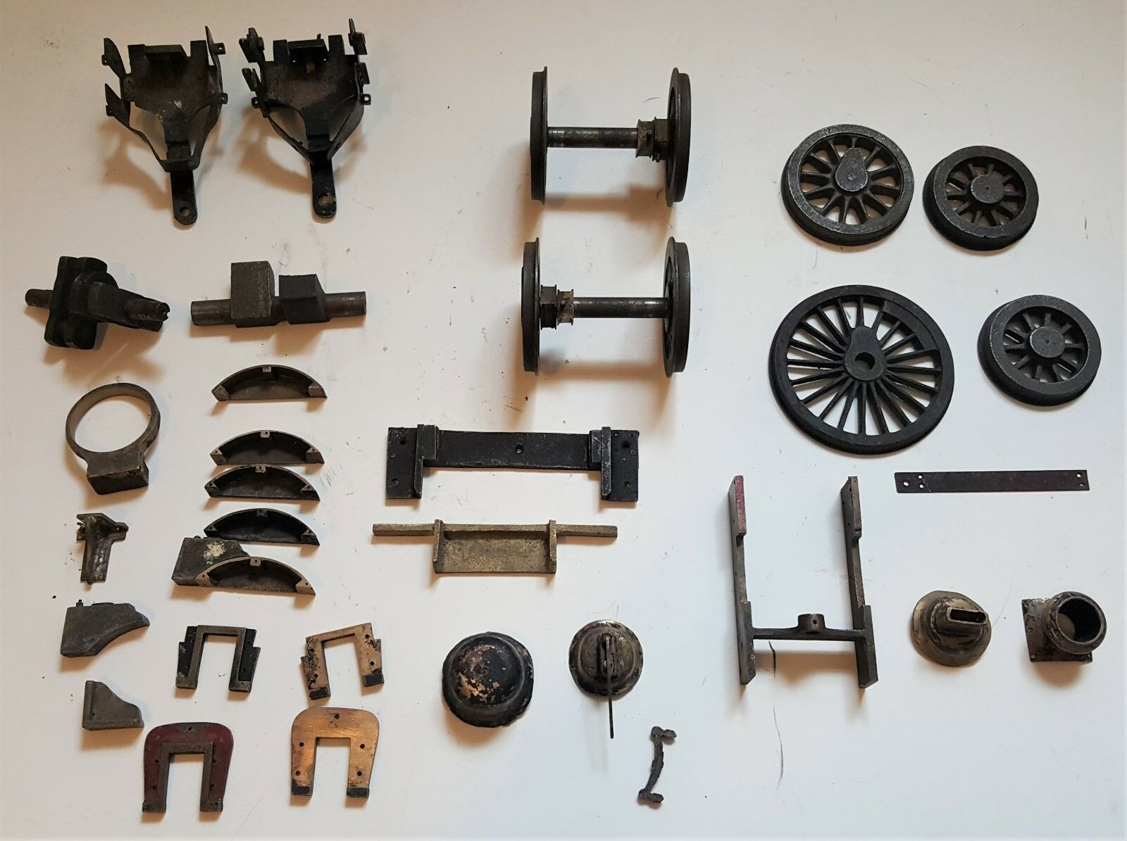 Bassett Lowke Steam locomotive parts 3.25 inch gauge
