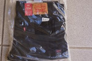 34x30 Fit Reg Black Levis Straight 514 YxBPyq6