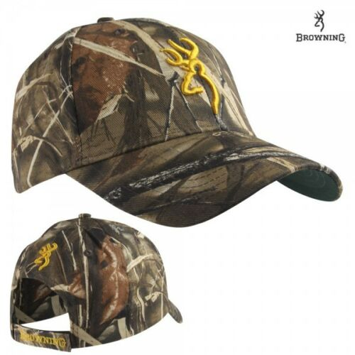 Browning Realtree MAX 4 Camo 3D Buckmark Rimfire Hunting Hat NEW! Cap
