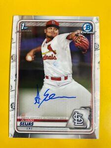 14529  2020 Bowman Chrome Prospect Autographs #CPAAS Alvaro Seijas CARDINALS
