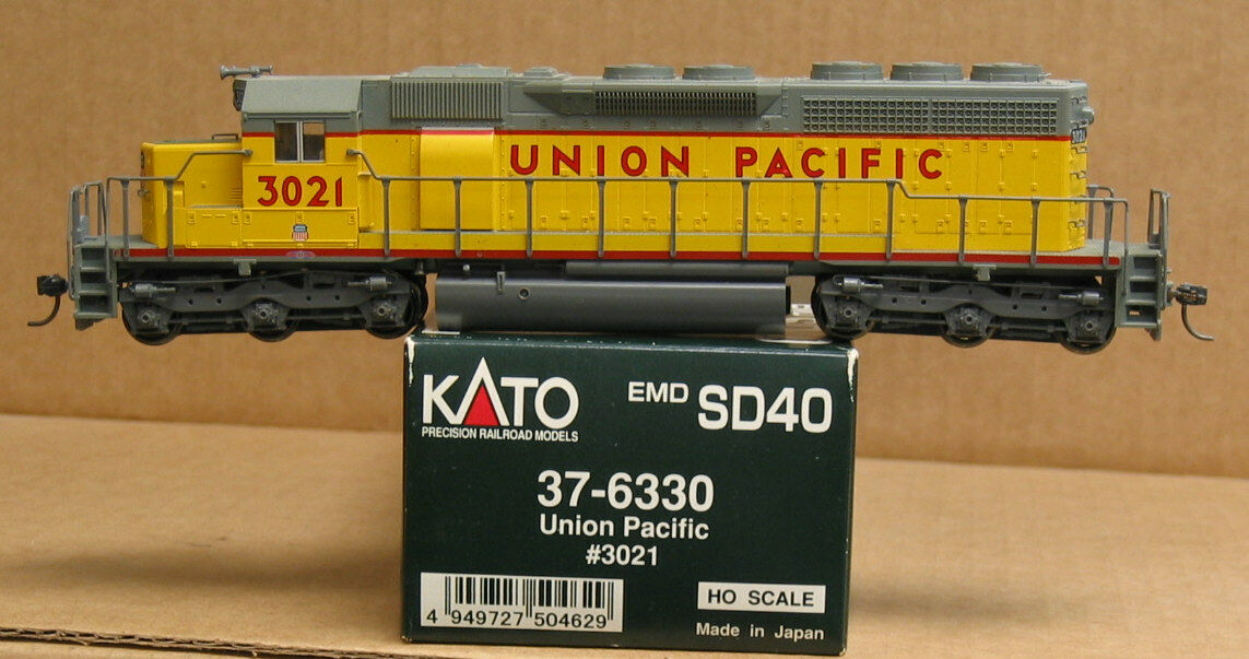 Kato 37-6330 HO Union Pacific SD40  3021, standard DC, REASONABLE PRICE, OFFERS