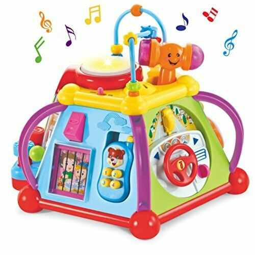 Baby Activity Centre Musical Cube Play & Learn Educational Toy by Wishtime