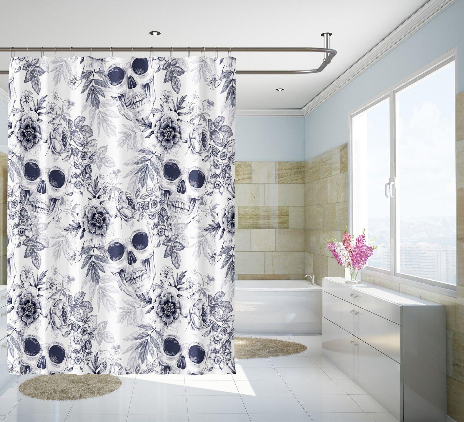 3D Crane Fashion 9 Rideau de Douche Imperméable Fibre Salle de Bain Home Windows Toilette