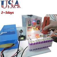 Pulse Spot Welder 709a Battery Welding Soldering Machine 60a Pen+ Nickel Strips