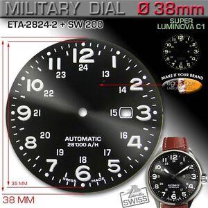 DIAL-BLACK-MILITARY-12-24-H-ETA-2824-2-and-SW-200-SUPER-LUMINOVA-38-mm