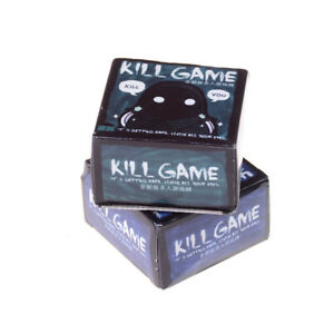 Mini-Party-Game-Jeu-Kill-Game-Jeu-Carte-Party-Cartes-Pour-Un-Ami-De-La-Fam-RK