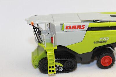 Wiking 389 12 Claas Lexion 770 TT Mähdresch V 1050 Getreidevorsatz 1:87 NEU