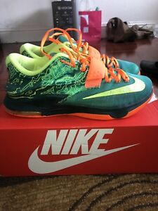 new product 6f1e6 633e8 Image is loading Nike-Kd-7-Weatherman-Size-9-5