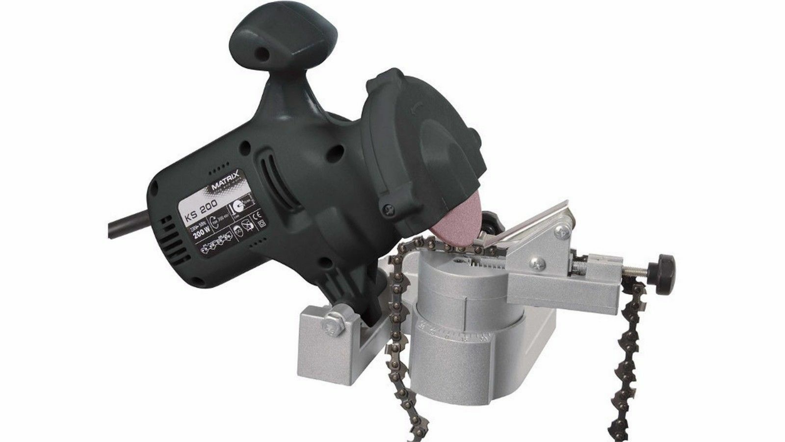 matrix sägekettenschleifgerät ks 200-1   ebay