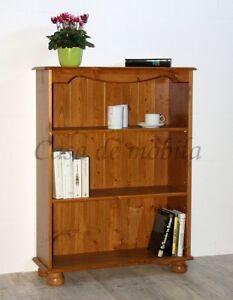 Details zu Massivholz Bücherregal Kiefer massiv honig Schuhregal  Stand-regal küchen-regale