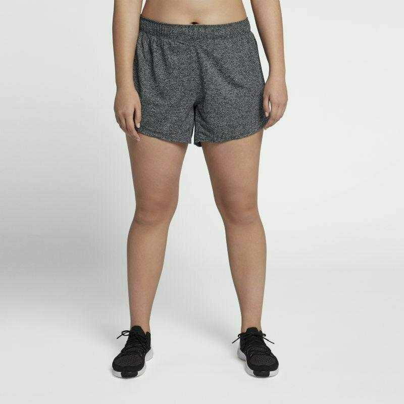 Nike Women's Shorts Tennis Playing Running Grey Size 1X 2X