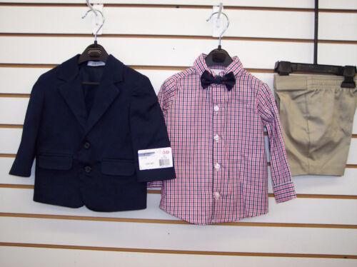 Infant /& Boys IZOD 4pc Suits w// Shorts Size 12 Months 6