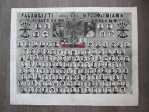 Foto-su-cartoncino-falangisti-dell-era-Mussoliniana