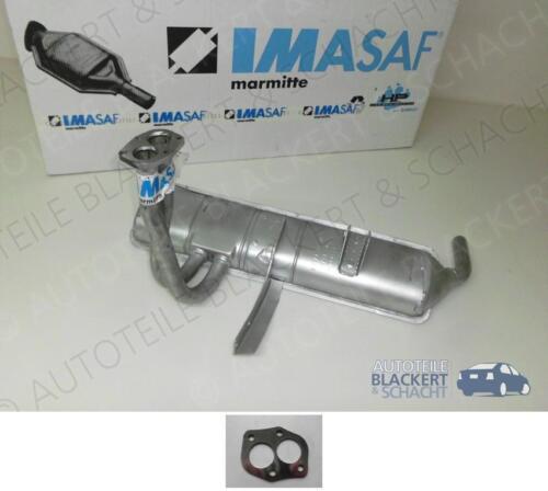 IMASAF Auspuffanlage Endtopf Fiat X 1//9 1.5 1978-1981