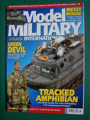 MODEL MILITARY INTERNATIONAL 38 JUNE 2009