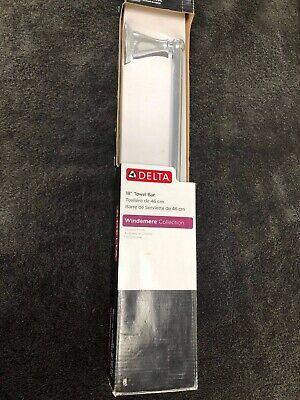 "70018-PC Windmere Bath 18/"" Towel Bar Polished Chrome Finish"