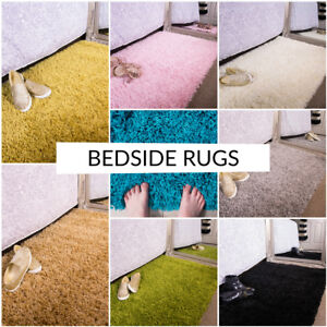 New-Fluffy-Soft-Shaggy-Thick-Pile-Cheap-Bedroom-Bedside-Kids-Home-Rug-Non-Shed