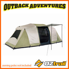 OZTRAIL SEASCAPE 10P DOME TENT FAMILY CAMPING TENT (3 ROOM) 10 PERSON NEW MODEL  sc 1 st  eBay & Oztrail Seascape 10p Family 3 Room Dome Tent Oztdtmseascape | eBay