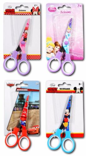 Schere Kinderschere Bastelschere Lernschere Minnie Mickey Mouse Cars Princess