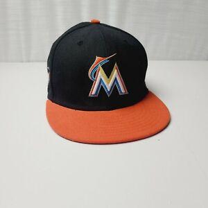 Florida Marlins New Era 9FIFTY MLB Strapback Adjust Black Hat Cap 950 Miami