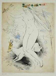 Amandine-Golden-1912-2011-Diane-Chasseress-Naked-et-La-Deer-C-1900-Esta-25-75