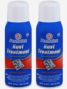 2 New Permatex 81849 Rust Treatment Rusty Metal Primer Destroy
