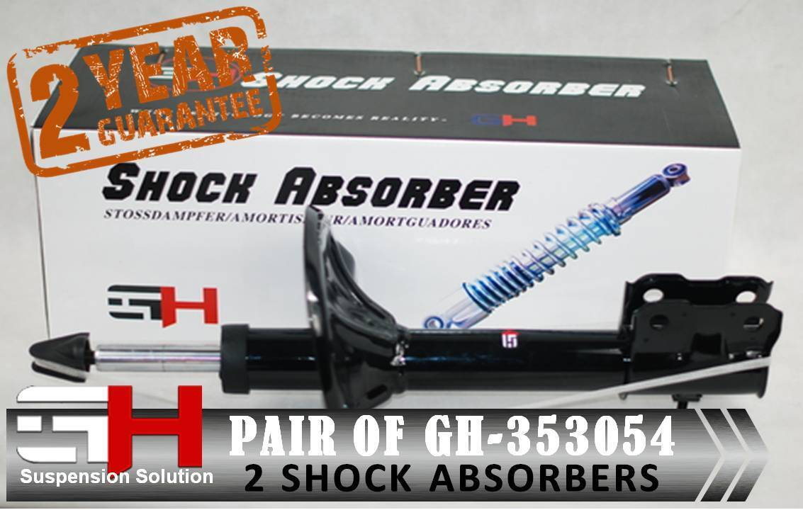 2 NEW FRONT SHOCK ABSORBERS FOR OPEL//VAUXHALL SINTRA//GH-353641K//