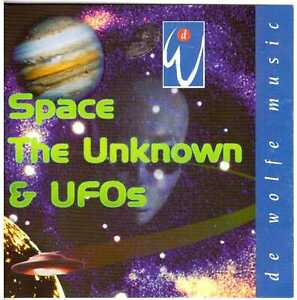 IAN BODDY Space, the Unknown & UFOs CD Electronic/Music Library – on De Wolfe