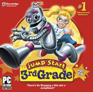 Jumpstart-3rd-Grade-Learn-Math-Science-Reading-History-Music-Brand-New-Sealed