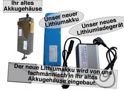 24V   6,4AH Giant Lafree Lithiumakku ( LiFe - LiFePo4 ) inkl. Einbau + Ladegerät