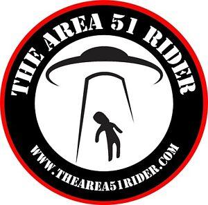 "4"" Area 51 Sticker"
