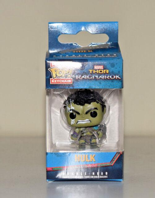 Funko Hulk Gladiator Thor Ragnarok Pop Pocket Keychain Soft Vinyl Figure - NEW