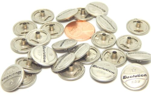Evolution Tack Buttons Metal Replacement  For Jeans 24 /& 48 pcs 12