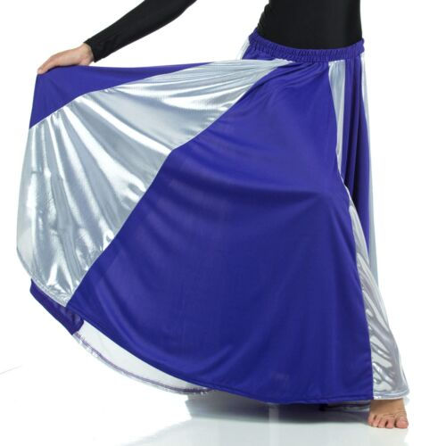 Danzcue Praise Dance Long Circle Skirt