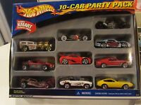 Hot Wheels 10-car Party Pack W/exclusive Kmart Car